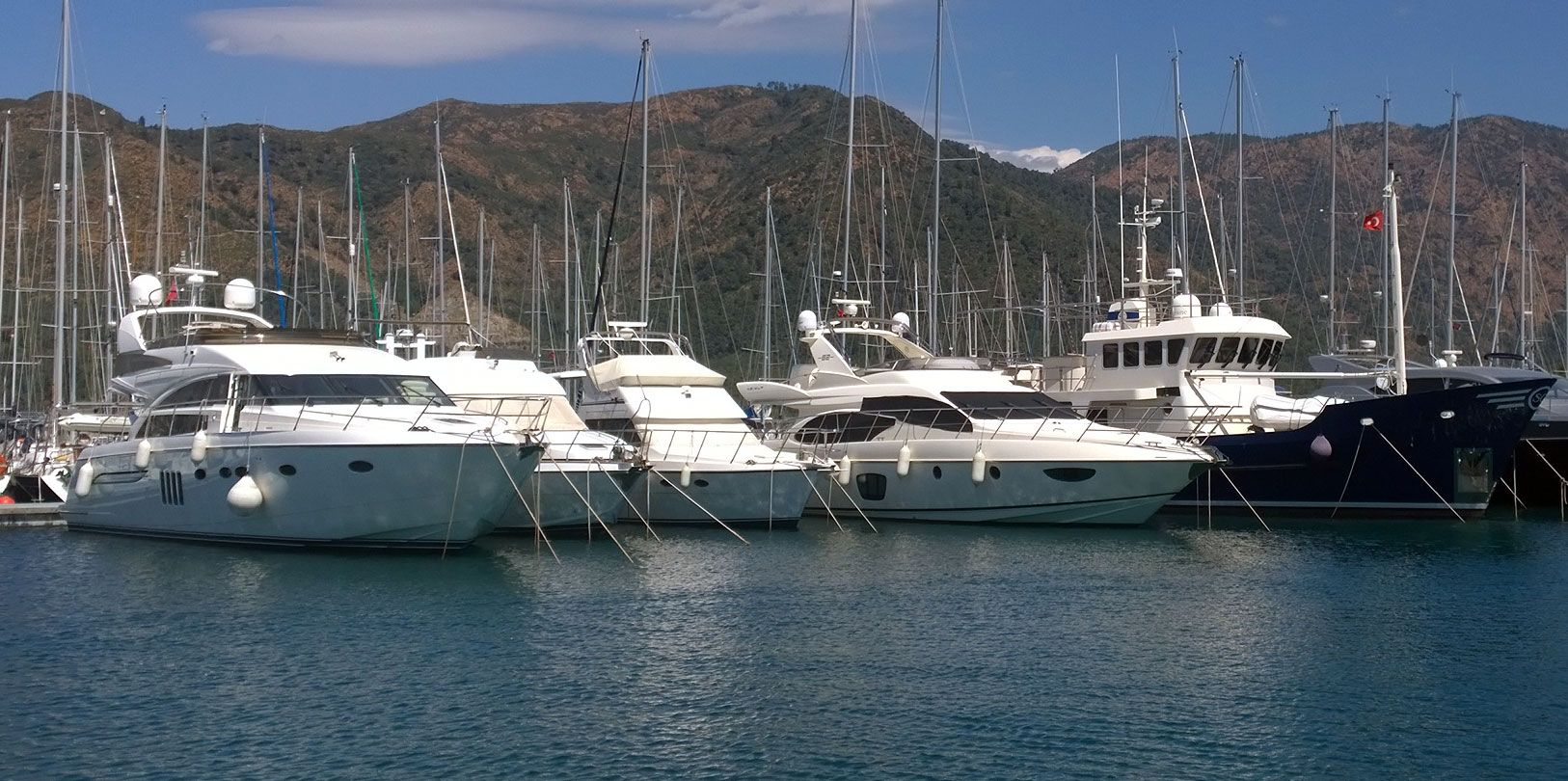 Motor Yachts For Sale in Turkey